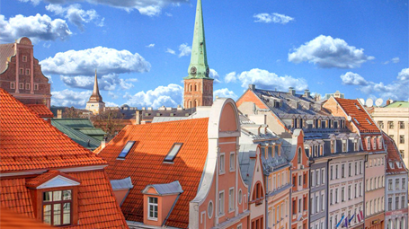 roofs of Riga