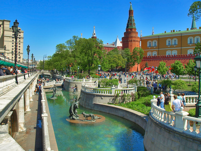 Moscow Shore Excursion  on Thursday (for 2-day cruisers)