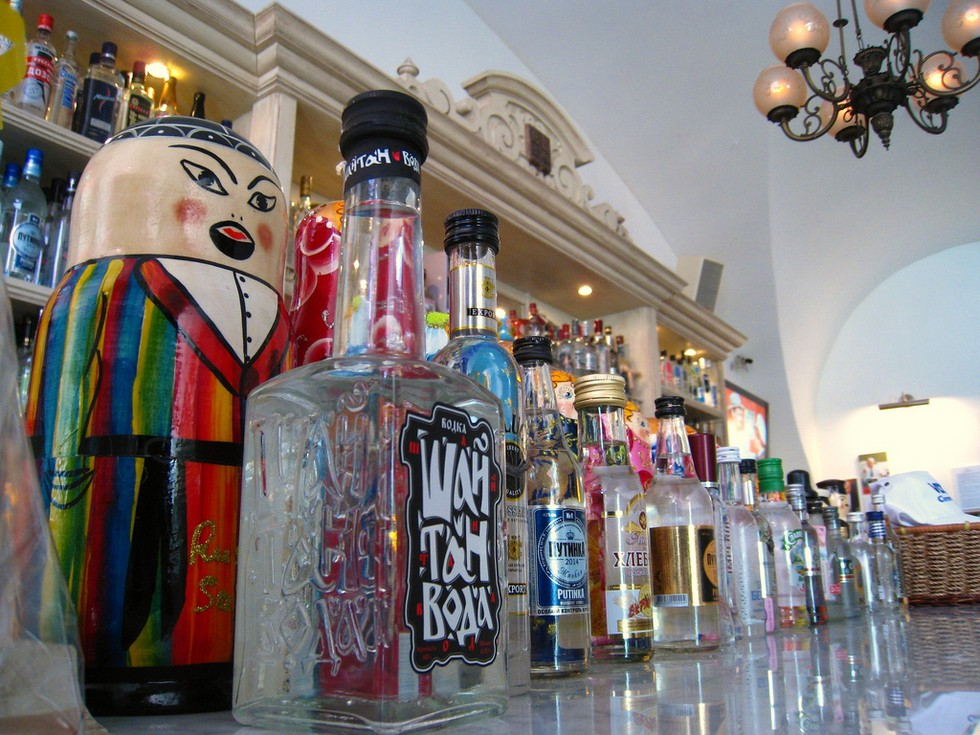 Vodka Tasting & Canal Boat Tour with roundtrip cruise ship transfer