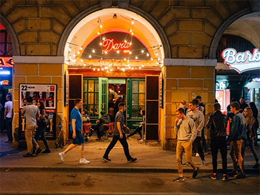 A new pedestrian street in Saint Petersburg