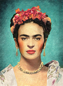 Exhibition of Frida Kahlo and Diego Rivera