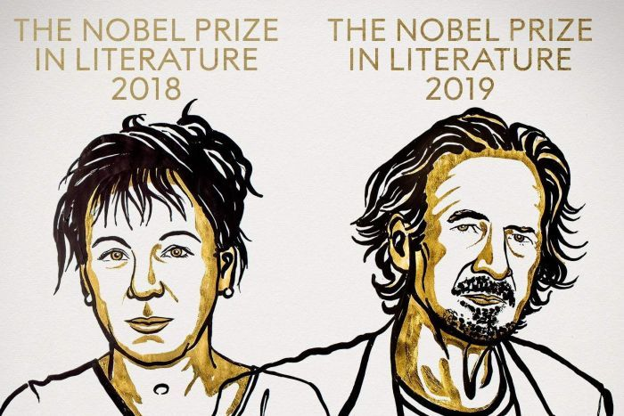 The Noble Prizes in Literature 2018 and 2019