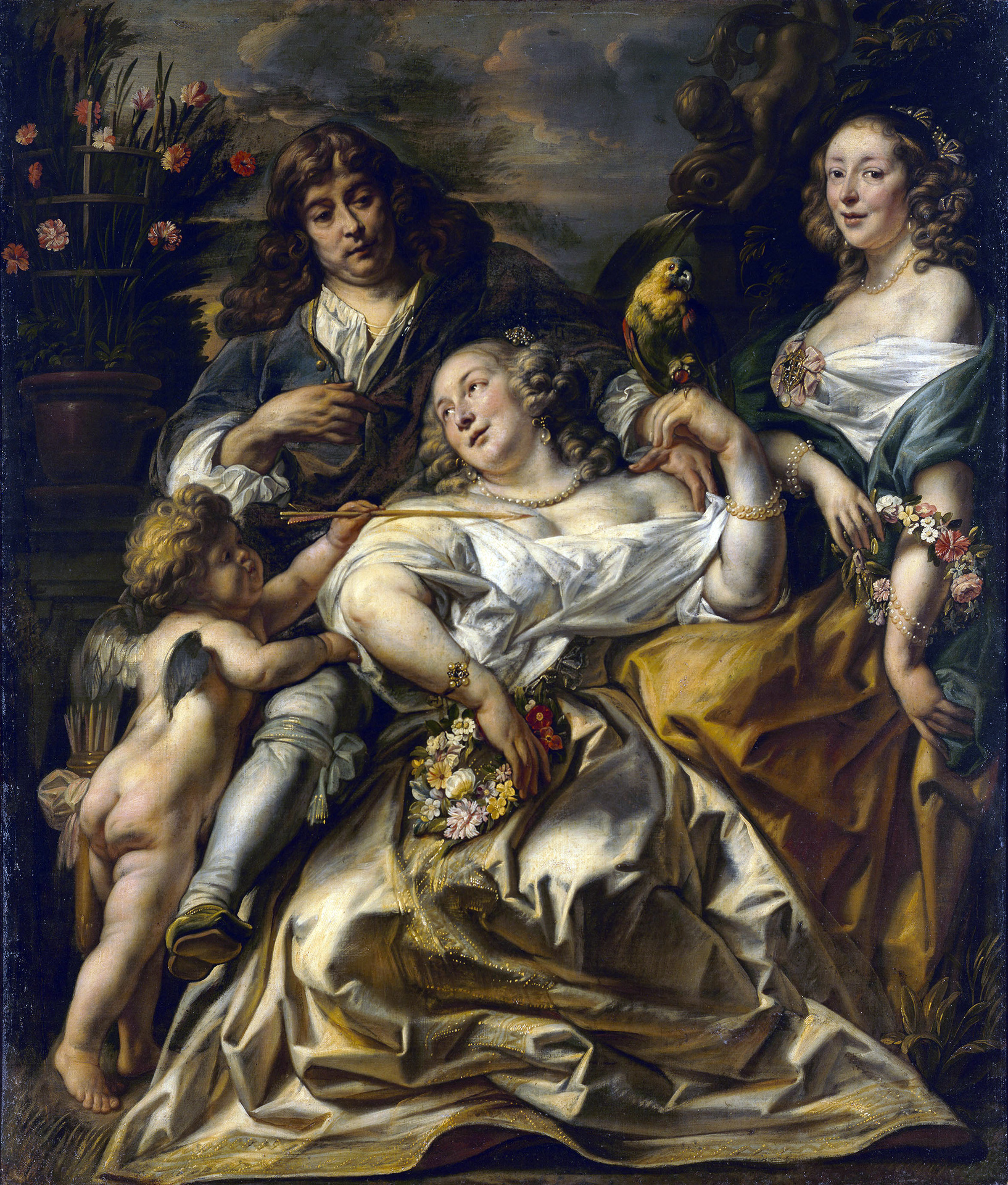 """Russian Jordaens. Paintings and Drawings by Jacob Jordaens from Russian collections"""